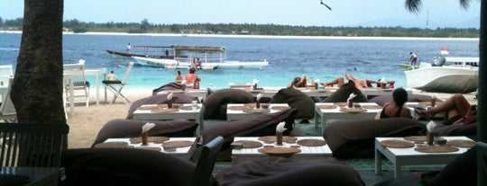 Cafe Gili Trawangan is one of best place in Lombok.