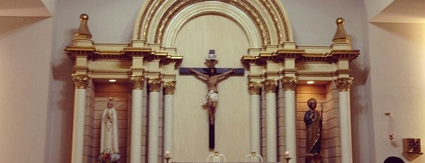 Chapel of the Eucharistic Lord is one of SM Megamall.
