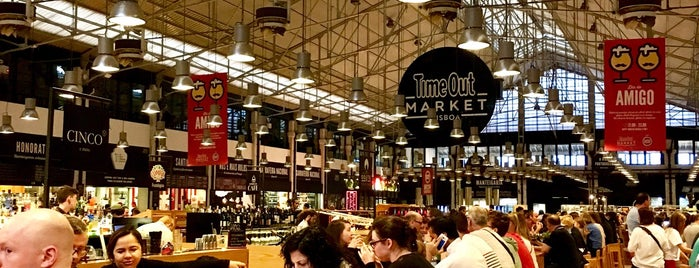 Time Out Market Lisboa is one of PDTさんのお気に入りスポット.