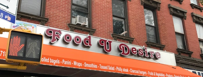 Food U Desire is one of Signage.