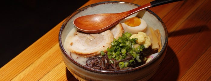 Jin Ramen Sushi - Dashi Noodle House is one of Erik'in Beğendiği Mekanlar.