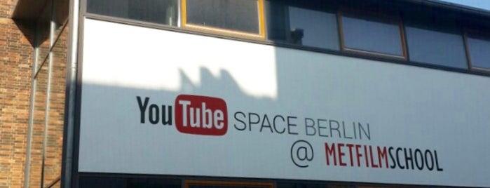 YouTube Space Berlin is one of 4sq365de (1/2).