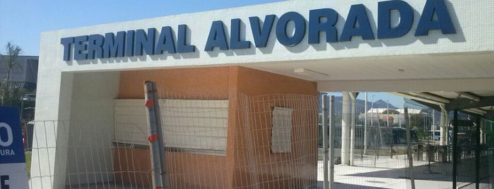 Terminal Alvorada is one of Locais salvos de Priscila.