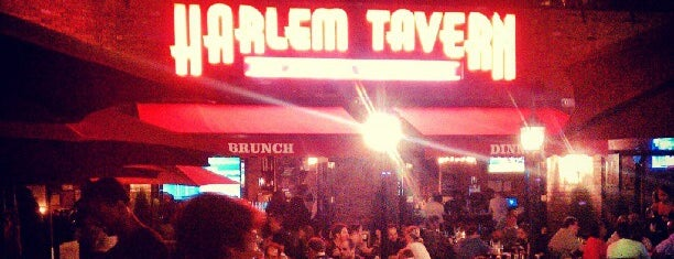 Harlem Tavern is one of Outdoor space.