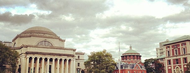 Columbia University is one of Tempat yang Disukai Nick.
