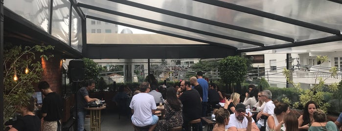 Upper BBQ & Roof & Drinks is one of São Paulo.