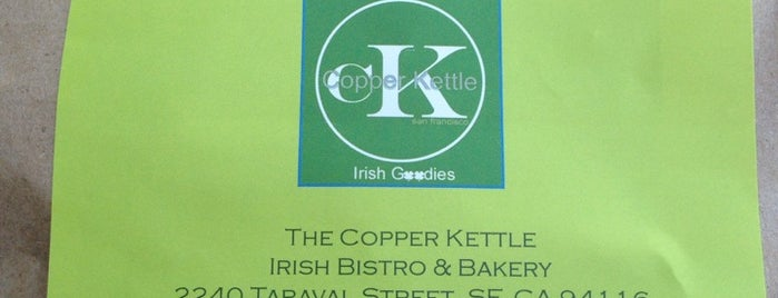 The Copper Kettle Irish Cafe & Bakery is one of Gespeicherte Orte von Emily.