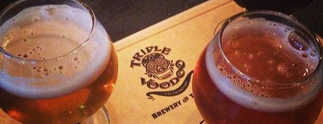 Triple Voodoo Brewery & Tap Room is one of Breweries.