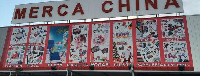 Merca China is one of Tempat yang Disukai Arturo.
