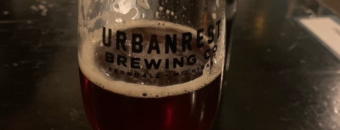 Urbanrest Brewing Co. is one of Locais curtidos por Jamie.