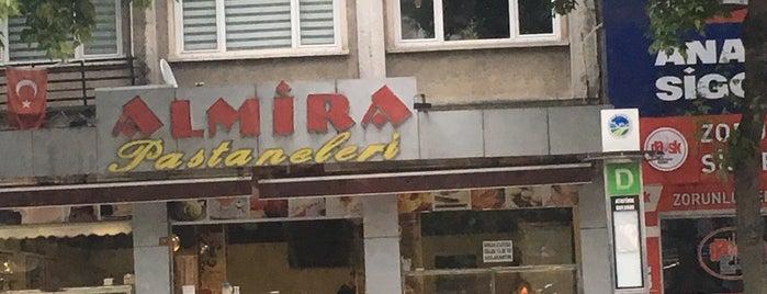 Almira Pastaneleri is one of Lugares favoritos de Barış.