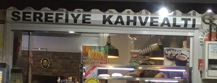 Şerefiye Kahvealtı is one of สถานที่ที่บันทึกไว้ของ Emre.