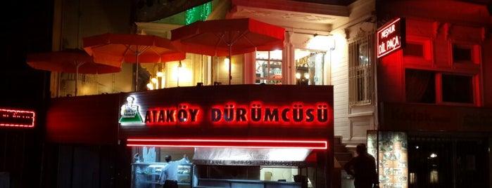 Ataköy Dürümcüsü is one of Lieux sauvegardés par ;&.