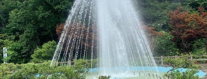 新津 秋葉公園 is one of Tempat yang Disukai Shohei.