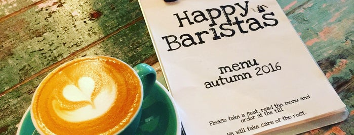 Happy Baristas is one of coffee coffee coffee.