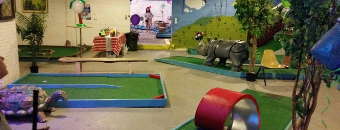 Keystone Mini-Golf and Arcade is one of Philly.