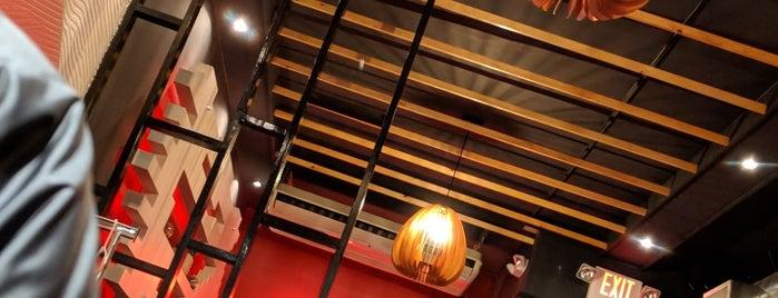 Megumi Japanese Ramen & Sushi is one of Tempat yang Disukai Cali.