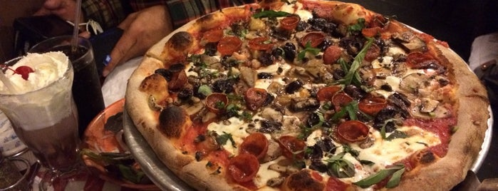 Lombardi's Coal Oven Pizza is one of New York: Pizza.