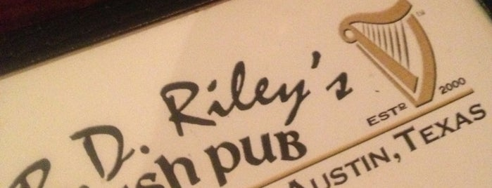 BD Riley's Irish Pub is one of Tempat yang Disukai Josh.