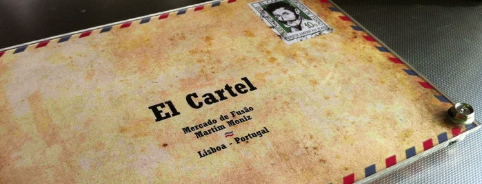 El Cartel is one of Lisboa para provar :).