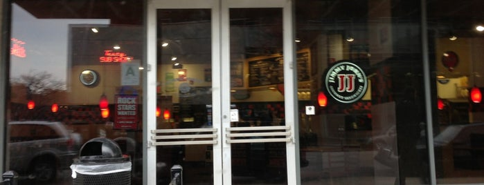 Jimmy John's is one of Downtown Lunch Grind.