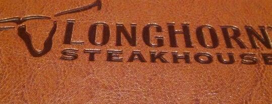 LongHorn Steakhouse is one of Orte, die Tiffany gefallen.