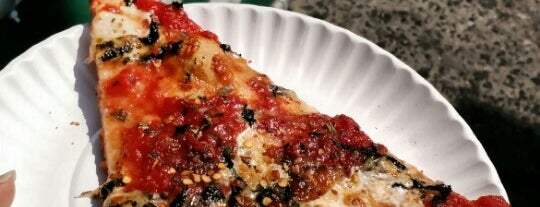 Bleecker Street Pizza is one of New York Magazine Most Amazing Slices, Jan 16 2016.