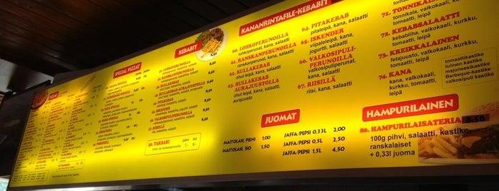 Amara Pizzeria & Kebab is one of Matheusさんのお気に入りスポット.