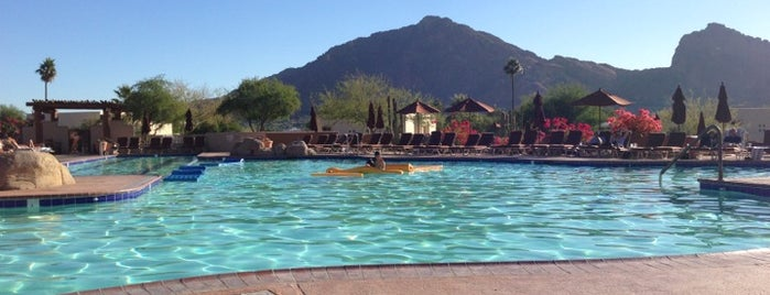 JW Marriott Scottsdale Camelback Inn Resort & Spa is one of places to go to.