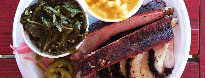 Roegels Barbecue Co. is one of Texas Monthly's Top 50 BBQ Joints in Texas.