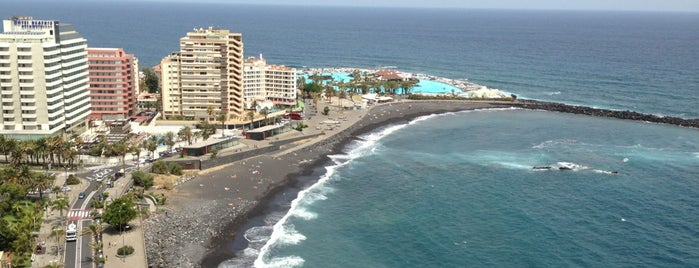 Playa Martiánez is one of Evgenyさんのお気に入りスポット.