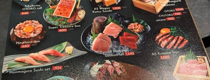 Sushi Mori is one of Thailandia.