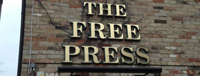 The Free Press is one of Carl'ın Beğendiği Mekanlar.