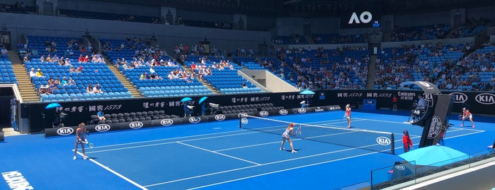 Margaret Court Arena is one of Melbourne.