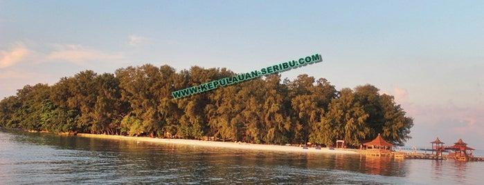 Pulau Sepa,kepulauan Seribu is one of Jakarta.