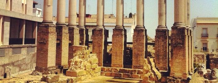 Templo Romano de Culto Imperial is one of Que visitar en Cordoba.