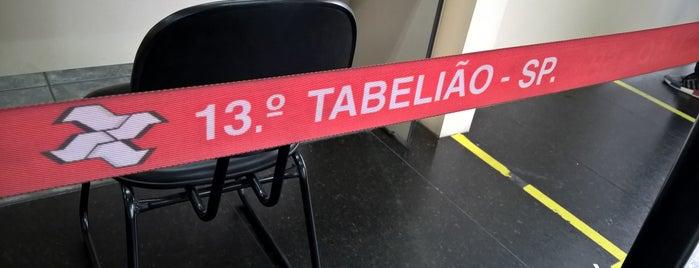 Cartório do 13º Tabelião de Notas da Capital is one of Tempat yang Disukai Alberto J S.