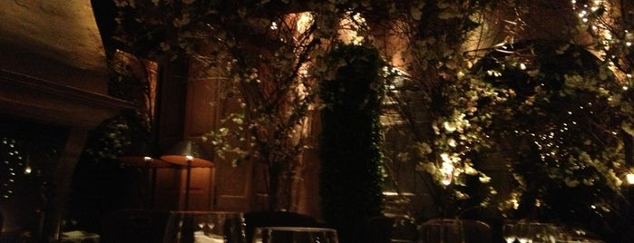 Clos Maggiore is one of Most Romantic Restaurants.