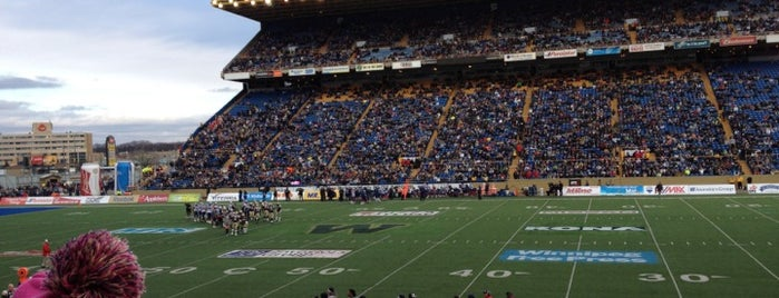Canad Inns Stadium is one of Sports Venues.