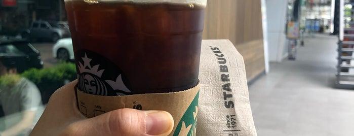 Starbucks is one of Tempat yang Disukai Adriana.