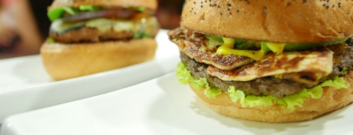 Tré Mono [Burger Shop] is one of Endoit select/restau.