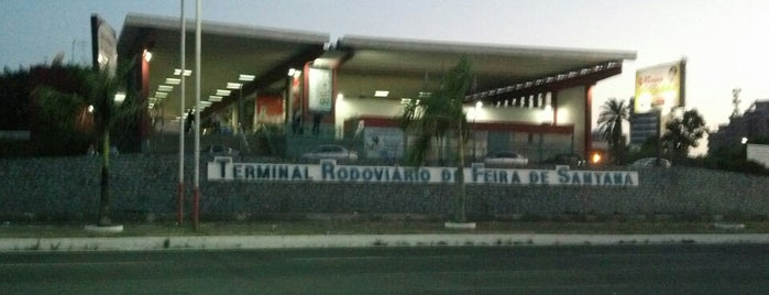 Terminal Rodoviário de Feira de Santana is one of Posti che sono piaciuti a Walney.