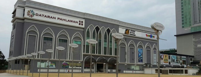 Dataran Pahlawan Melaka Megamall is one of Malacca.