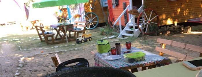 Wagon Concept Camping is one of Gökçeada.