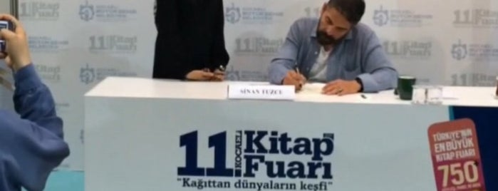 11. Kocaeli Kitap Fuarı is one of Locais curtidos por Korhan.