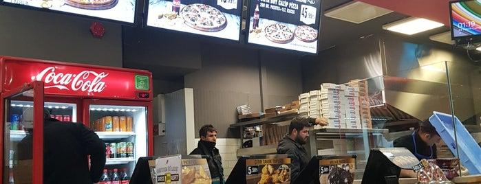 Domino's Pizza is one of Yemek.