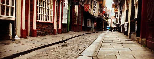 The Shambles is one of York.