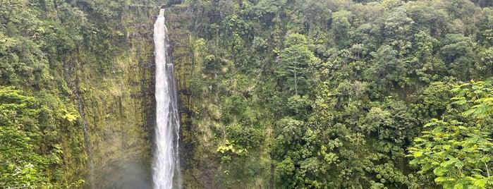 Akaka Falls is one of HAWAII.