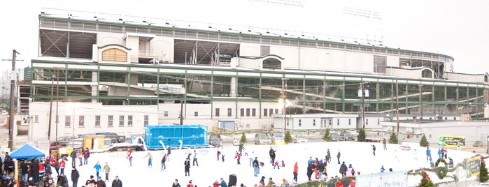 Wrigley Field Ice Skating Rink is one of Chicago Park District Ice Skating Rinks.