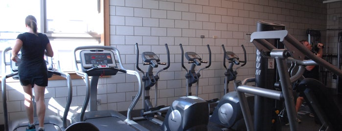 Haas (Joseph) Park is one of Chicago Park District Fitness Centers.